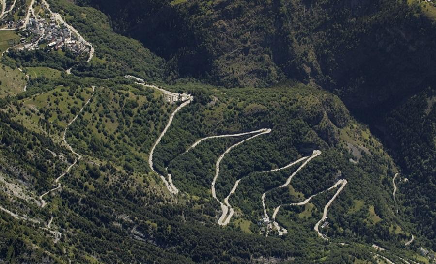 Etape du Tour de France de montagne : Le tour Malet