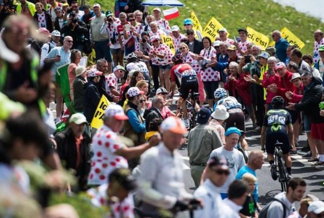Etape du Tour de France de montagne : Le mur de Bretagne
