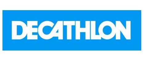 Logo DECATHLON sur Fixie Lille