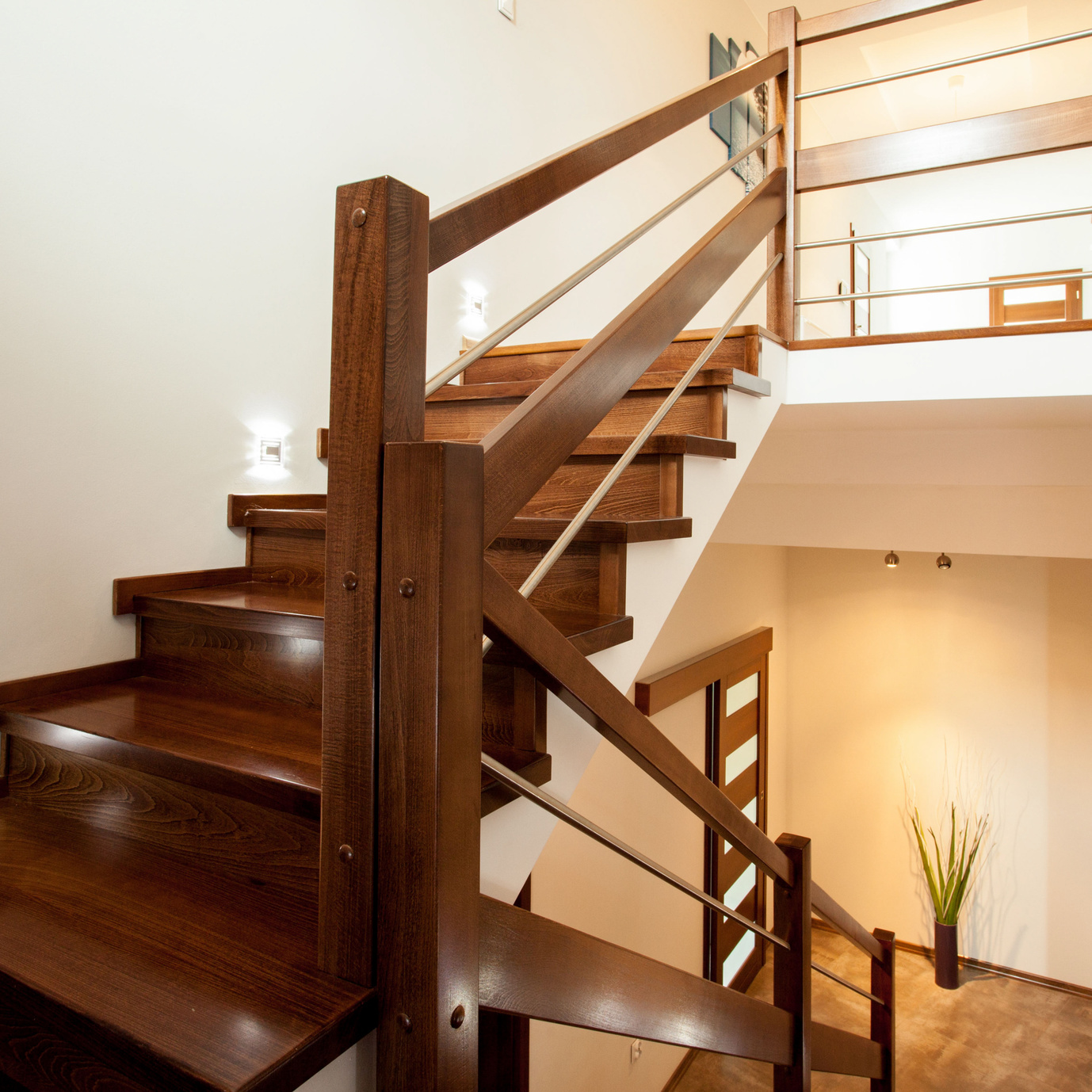 Wooden staircase renovation Doncaster.