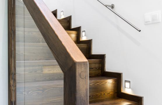 Modern wooden staircase renovation in Doncaster