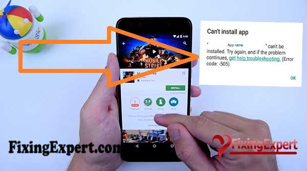 How to Fix Can't Install Apps from Google Play Store Error