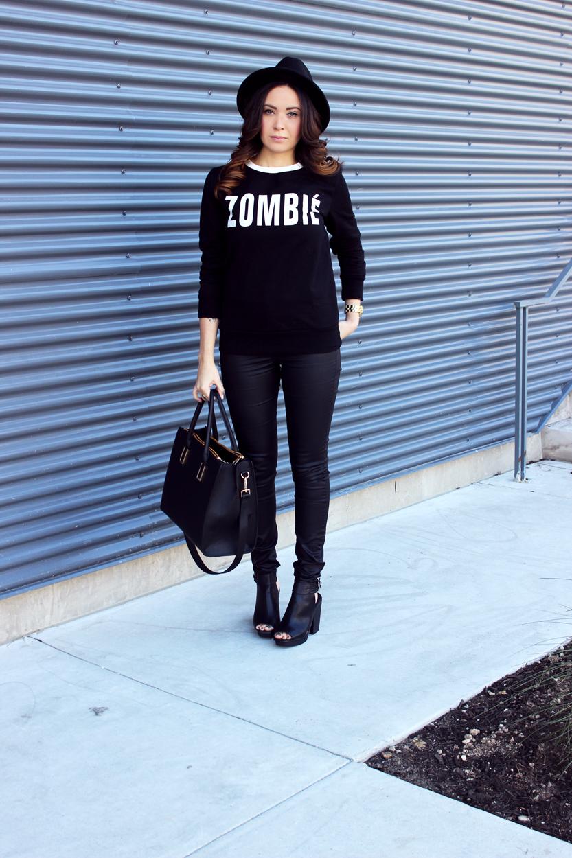 Fixin to Thrill| Austin Fashion Blog: Zombie