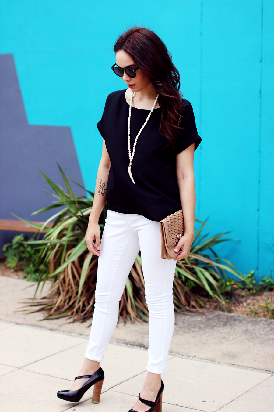 Fixin to Thrill | Austin Fashion Blog: Statement Necklace