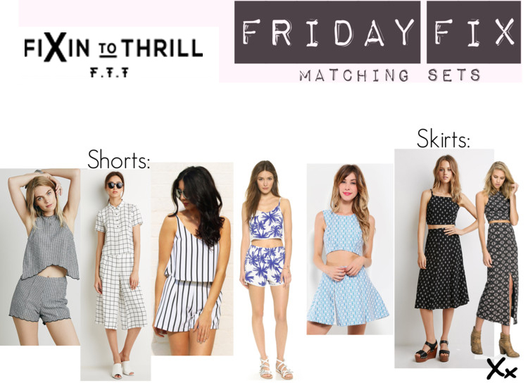 Fixin to Thrill | Austin Fashion Blog | Matching Sets