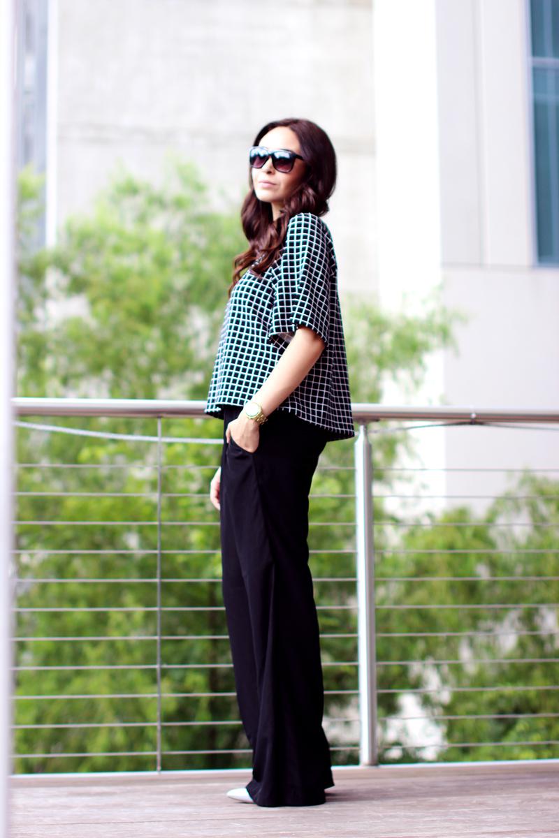 Fixin to Thrill | Austin Fashion Blog| Black and White Print