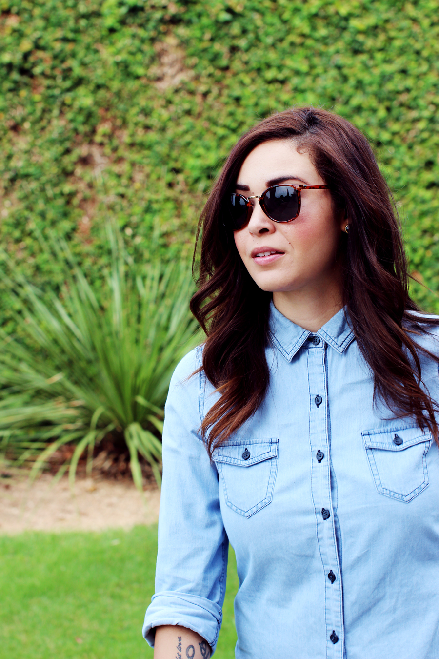 Fixin to Thrill   Austin Fashion Blog: Chambray