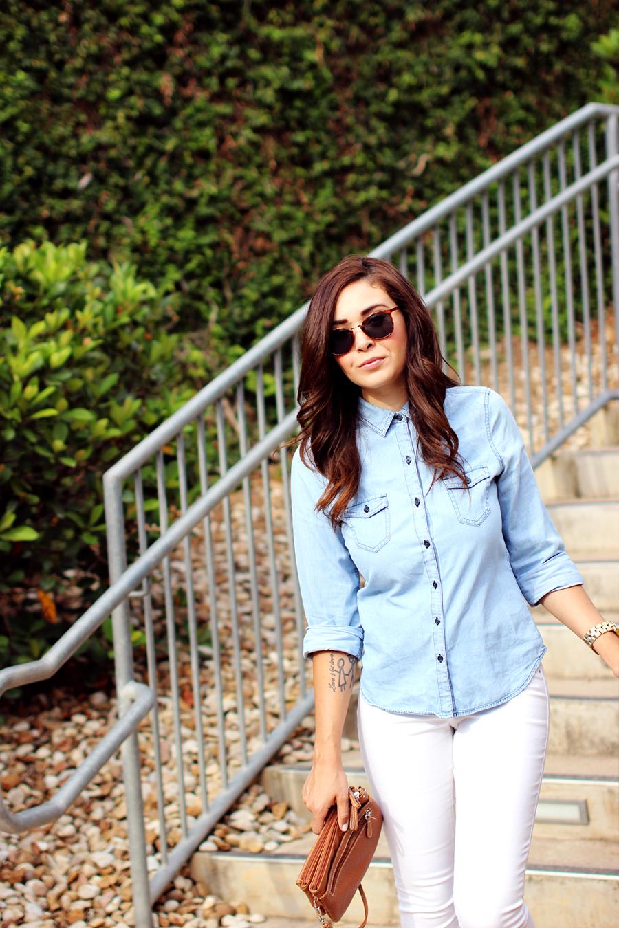 Fixin to Thrill | Austin Fashion Blog: Chambray