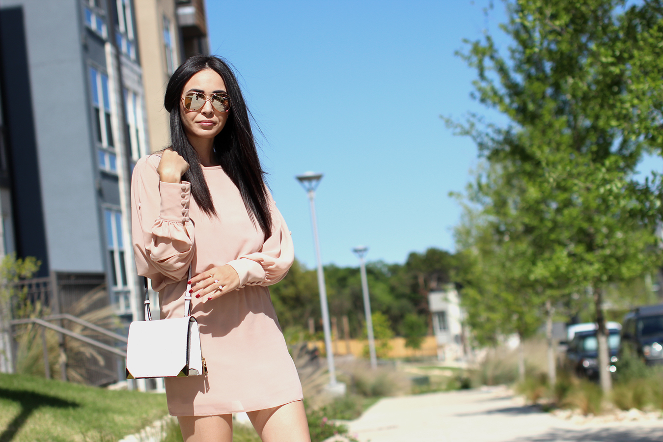 FTT-BLUSH-DRESS-NUDE-HEELS-MELIE-BIANCO-AUSTIN-FASHION-BLOGGER