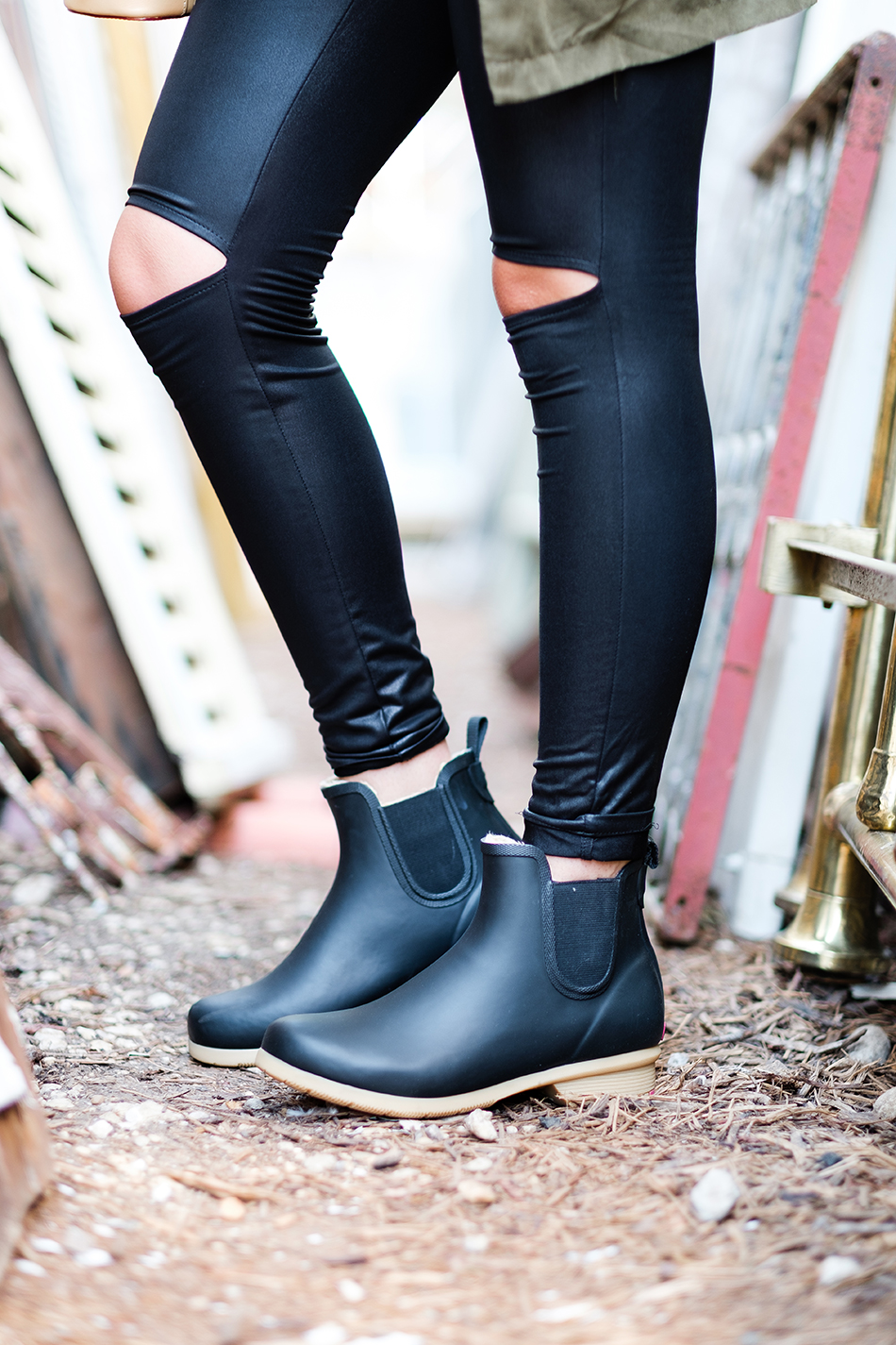 Fixed to Thrill | Rainboots with Chooka