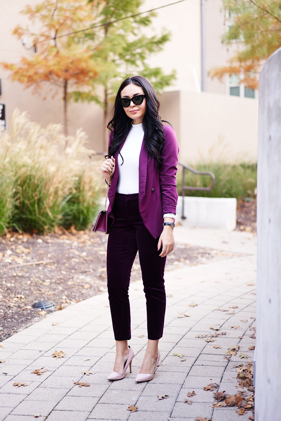 A Holiday Outfit You Probably Have in Your Closet Right Now