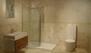 Replace Bathroom Drywall With Tiled Walls