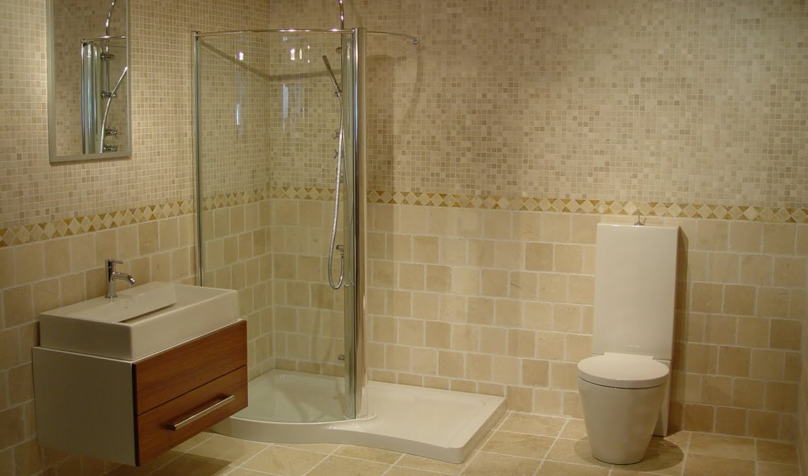 Awesome Replace Bathroom Drywall With Tiled Walls