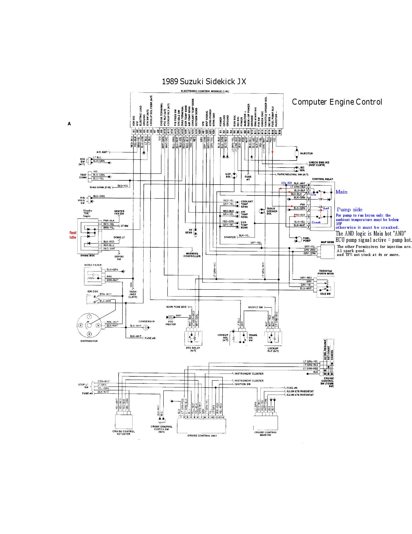 Wrg Geo Tracker Engine Diagram