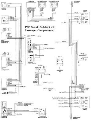 Suzuki Sidekick Wiring Diagram | Wiring Library