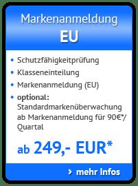 Markenanmeldung Europa - Europäischer Markenschutz