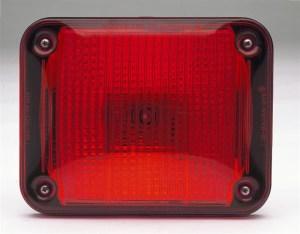 Whelen 900 Series Red Halogen Light