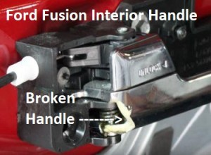 DIY Ford Fusion Door Handle Replacement Procedure