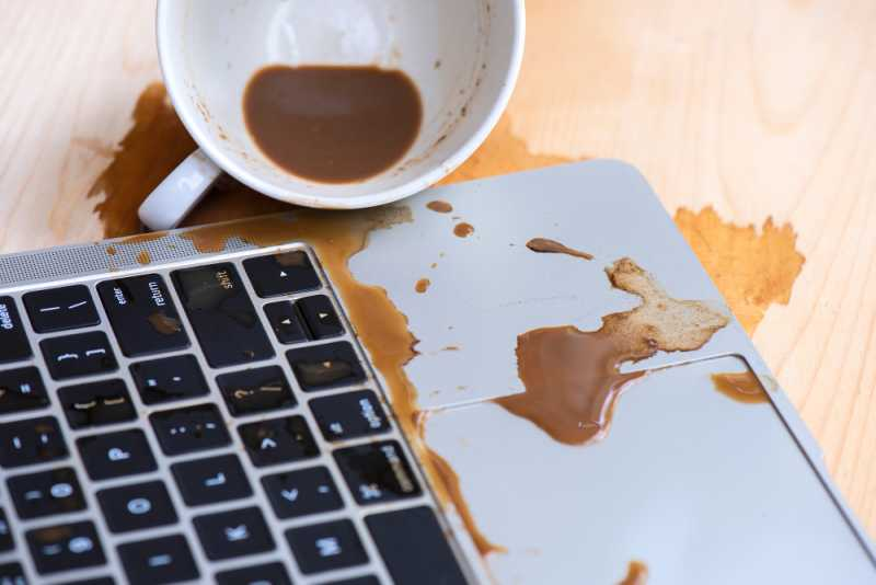 Laptop from liquid damage