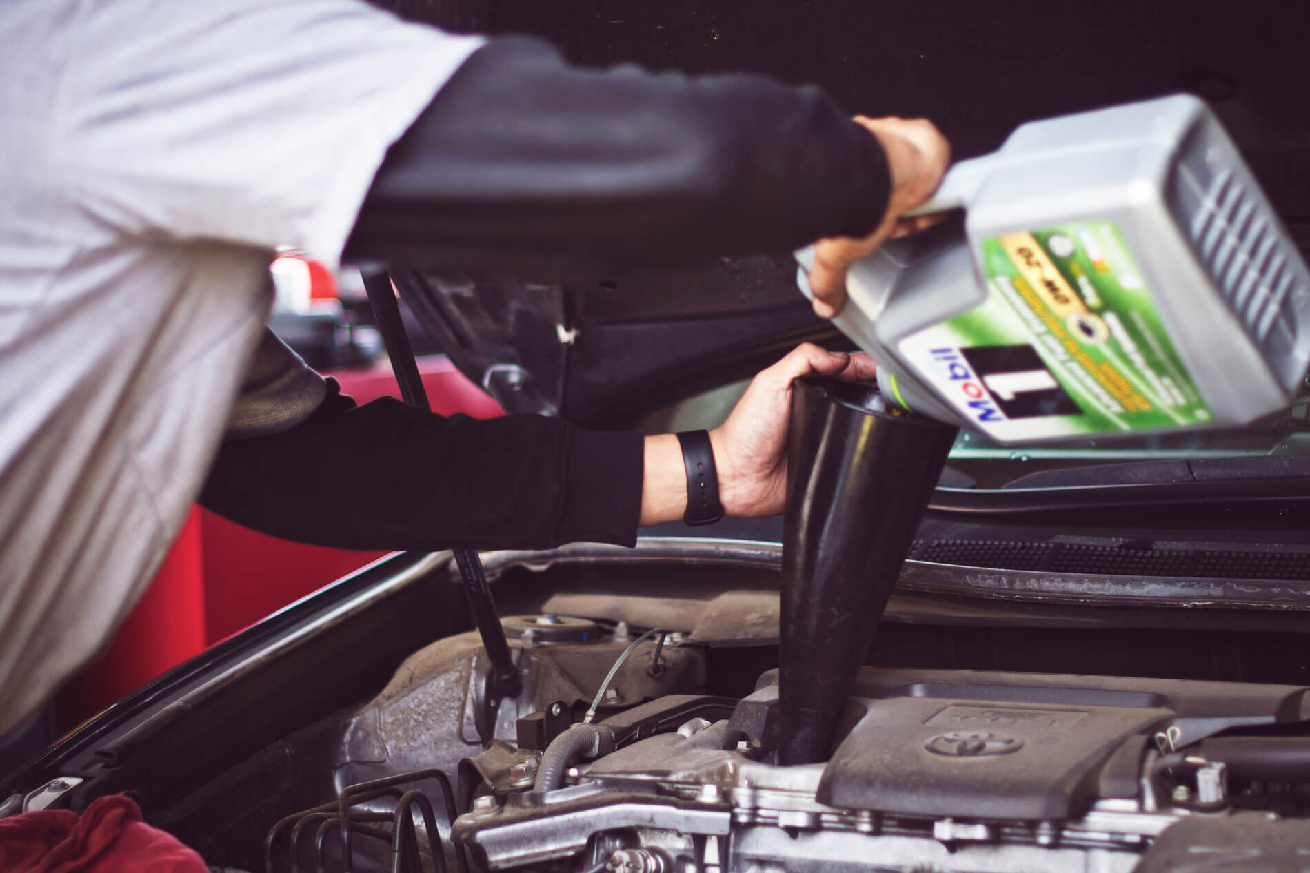 Fixter oil and oil filter change