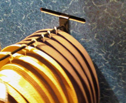 Slotted Faux Surface with flat backplate Slatwire 90 degree tip hook