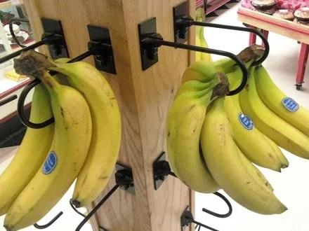 Straight Entry Banana Hook in Produce