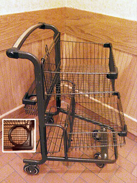 Second Generation Cart and Cup Holder Unveiled