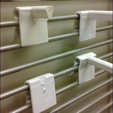 Plastic Grid Hooks In Failure
