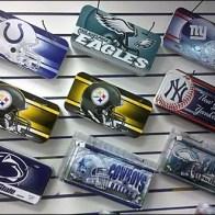 Sport License Plates On Diagonal