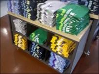 T-Shirts Merchandised Sans Map