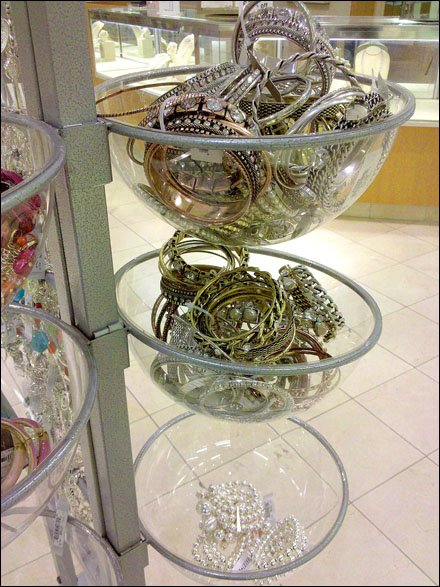 Spherical Dump Bowl Fashion Jewelry Display