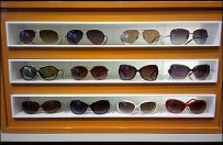 Sunglass Niches Along Miracle Mile