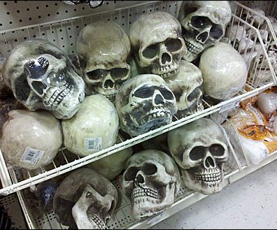 Skulls in Endless Basket