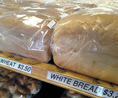 Classic Bakery Label Holders as Retail Merchandising Fixtures