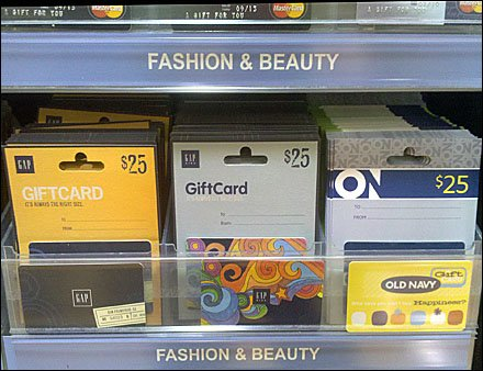 Gift Card On-Shelf Auto-Feed
