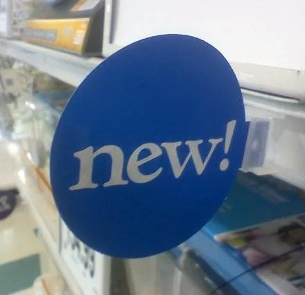 Perpendicular Shelf-Edge New Pops