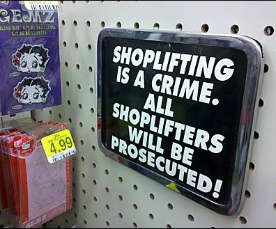 Clear Shoplifting Policy