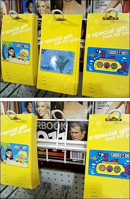 Multi-Loop-Hooked Magazine Rack