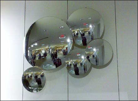 Mirrors as Retail Objet d'art