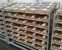 Mega Gravity-Feed Bakery Rack