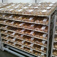 Mega Gravity Feed Bakery Rack Overview
