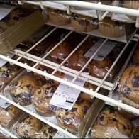 Mega Gravity Feed Bakery Rack