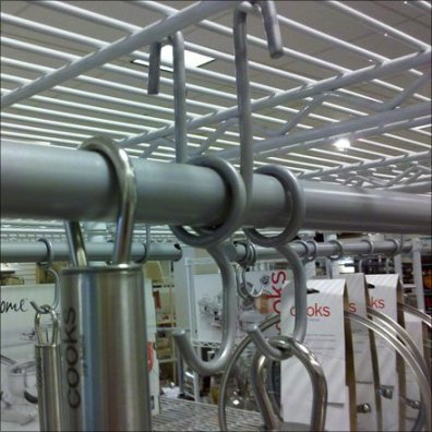 Metro Overhead Hanger Rod Detail