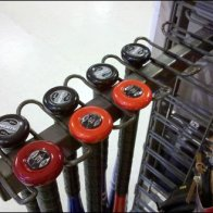 Slatwire Baseball Bat Holder
