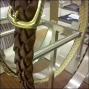 Belts Loop Vertically Merchandising Presentation