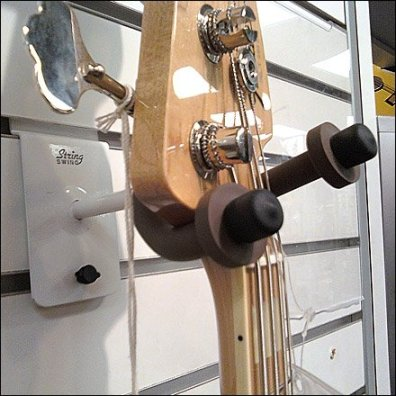 Fender Guitar Slatwall Hook Detail