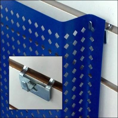 Perforated Metal Pin-Up Detail