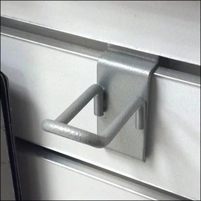 Micro Loop Hook For Slatwall Detail
