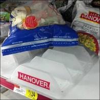 Plastic Freezer Tray Detail
