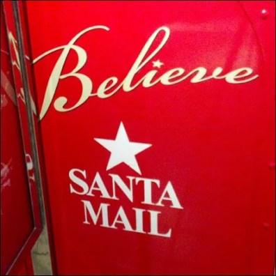 Believe in Santa Mail